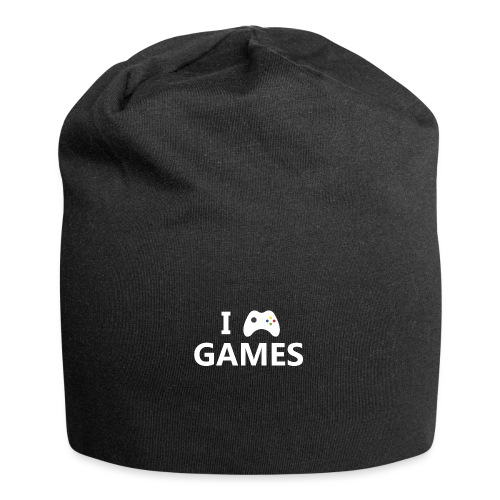 I Love Games 2 - Gorro holgado de tela de jersey