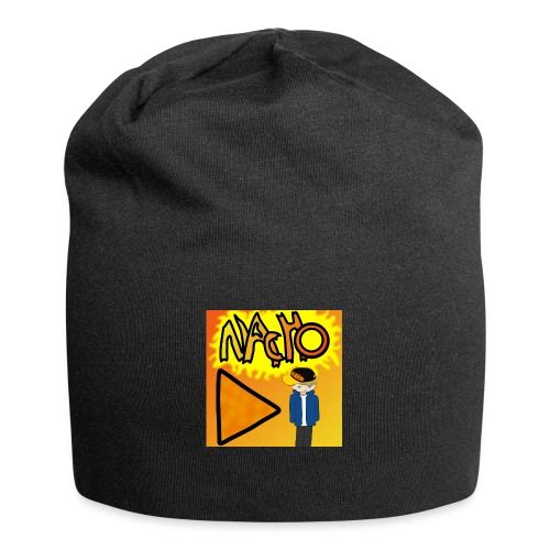 Nacho Title with Little guy - Jersey Beanie
