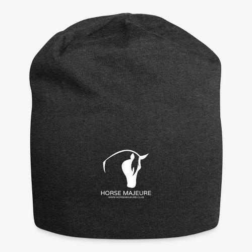 Horse Majeure Logo / Valkoinen - Jersey-pipo