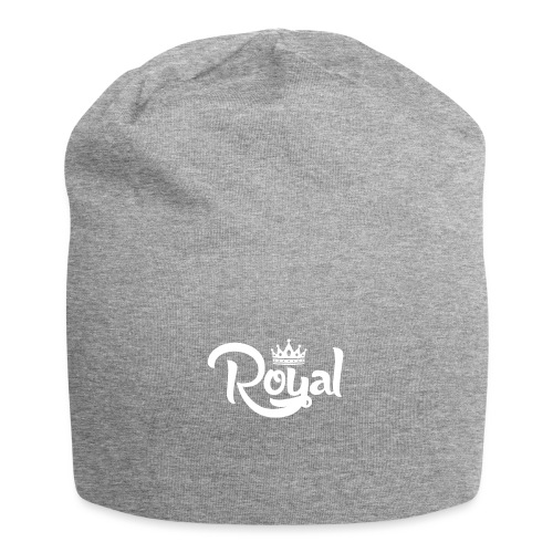 Royal Logo White Edition - Jersey Beanie
