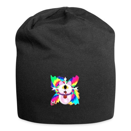 Chat diabolique - Bonnet en jersey