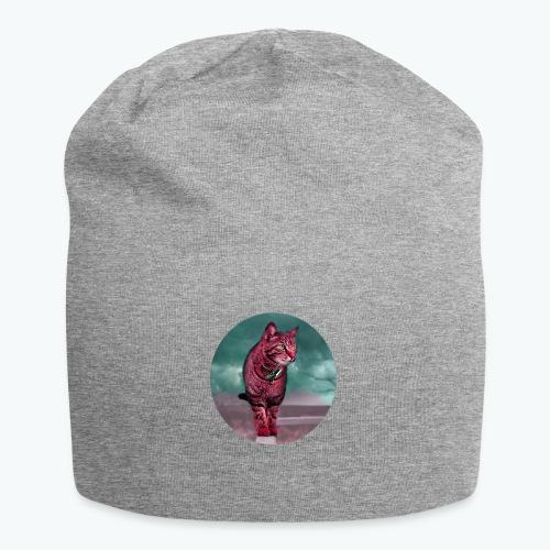 Chat sauvage - Bonnet en jersey