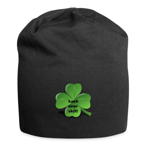Luck over skill - Jersey-beanie