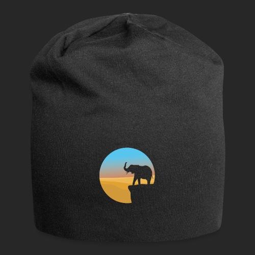 Sunset Elephant - Jersey Beanie