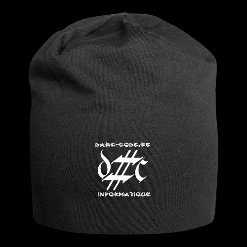 Dark-Code Gothic Logo - Bonnet en jersey
