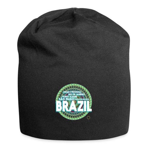Lemon Brazil Mandala - Bonnet en jersey