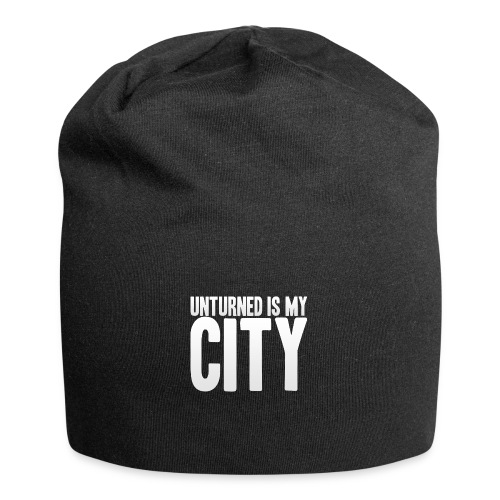 Unturned is my city - Jersey Beanie