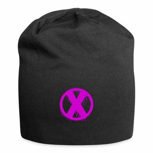 X - Bonnet en jersey
