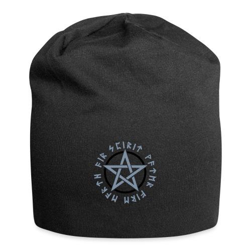 Pentagramm, Elemente, Runen, Magie, Symbol, Stern - Jersey-Beanie