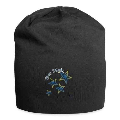 Star - Gorro holgado de tela de jersey