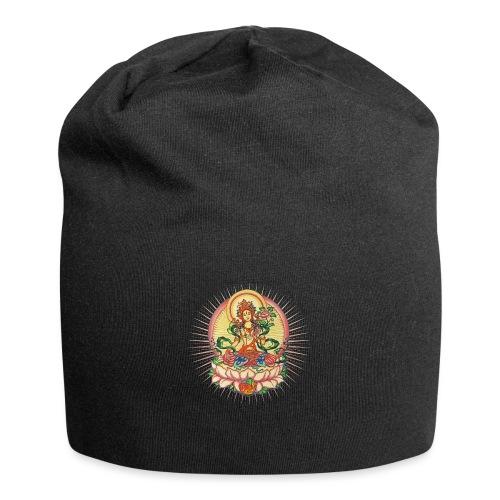 Tara Tibet Buddhismus Lotus Meditation Yoga - Jersey-Beanie