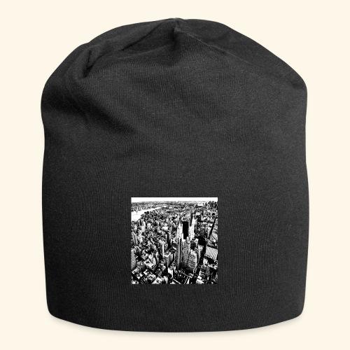 Manhattan in bianco e nero - Beanie in jersey