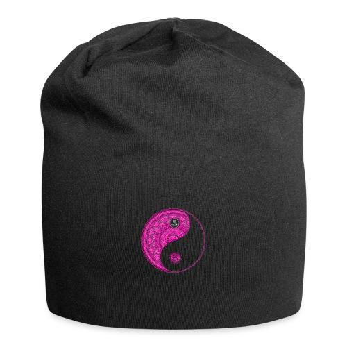 Mandala YinYang Pink MaitriYoga - Bonnet en jersey