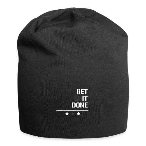 get shit done - Jersey-Beanie