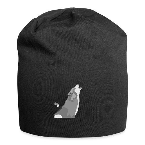 Wolf heulend - Jersey-Beanie