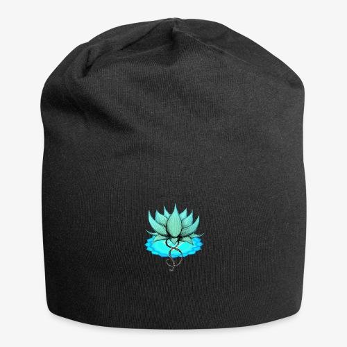 Lotus bleu chakra - Bonnet en jersey