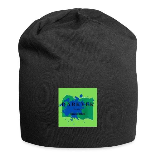 darkyek design green - Gorro holgado de tela de jersey