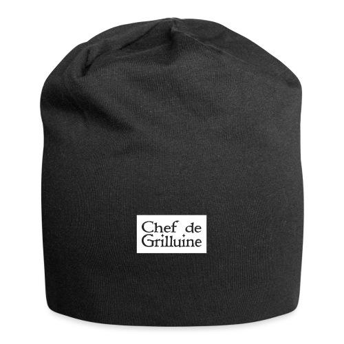 Chef de Grilluine - der Chef am Grill - Jersey-Beanie