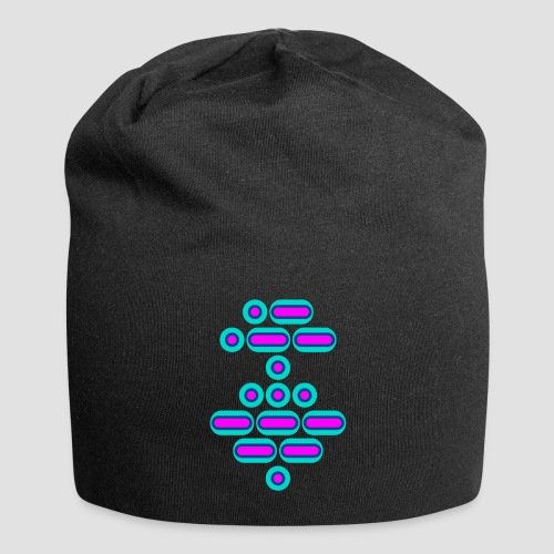 AWESOME (pink/blue) - Jersey Beanie