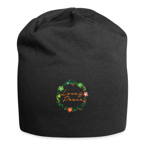 Love and Peace - Jersey Beanie