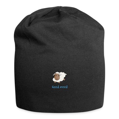 Nadège le petit mouton blanc - Bonnet en jersey