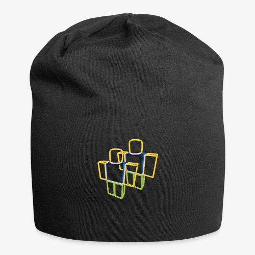 Sqaure Noob Person - Jersey Beanie