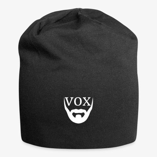 Logo Vox Bianco - Beanie in jersey