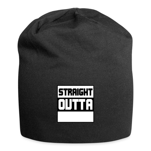 lav selv dit eget STRAIGHT OUTTA STATEMENT - Jersey-Beanie