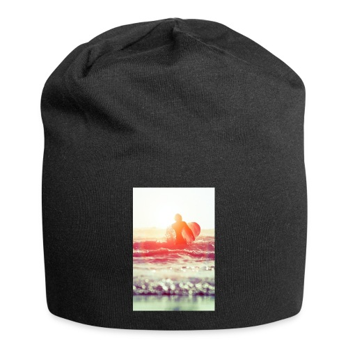 sunset surf jpg - Jersey Beanie