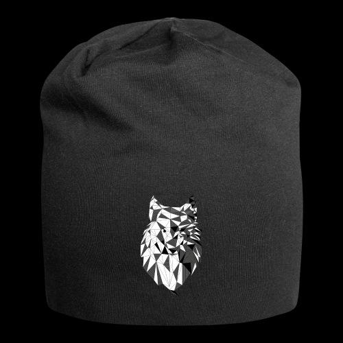Polygoon wolf - Jersey-Beanie