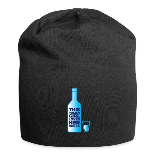 Girl loves Vodka - Jersey-Beanie