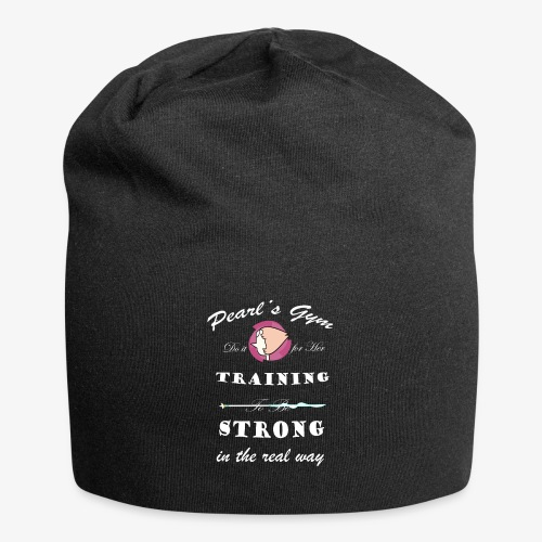 Strong in the Real Way - Beanie in jersey