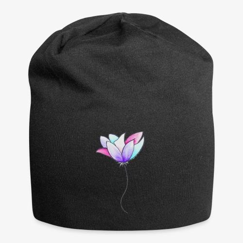 Fleur - Bonnet en jersey