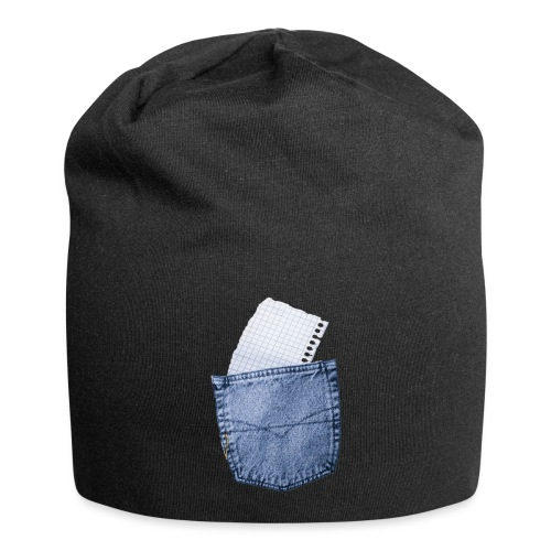 Jeans Baggy by #OneCreativeArts - Jersey-Beanie