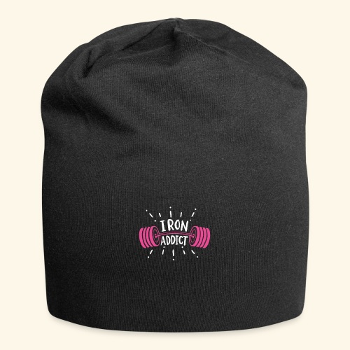 Iron Addict I VSK Funny Gym Shirt - Jersey-Beanie
