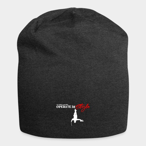 Hang in there & operate in style - Jersey Beanie