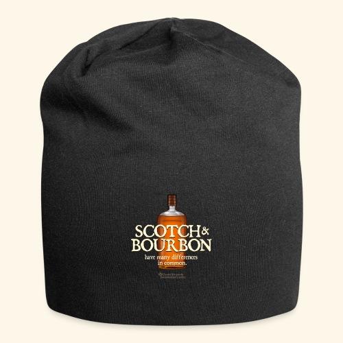 Whisky Spruch Scotch & Bourbon - Jersey-Beanie