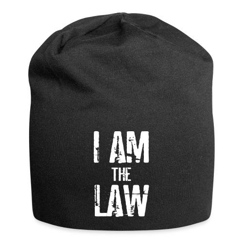 Tank top girl woman I AM THE LAW per avvocatessa - Jersey Beanie