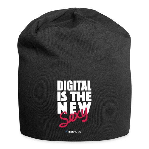 DIGITAL is the New Sexy - Beanie in jersey