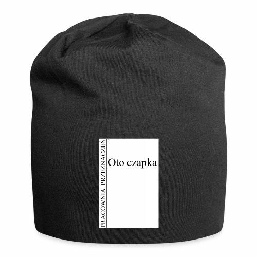 Oto czapka - Czapka krasnal z dżerseju
