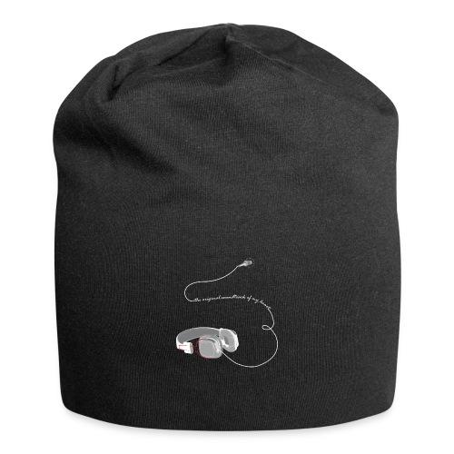 Tee shirt manches longues casque soundtrack - Bonnet en jersey
