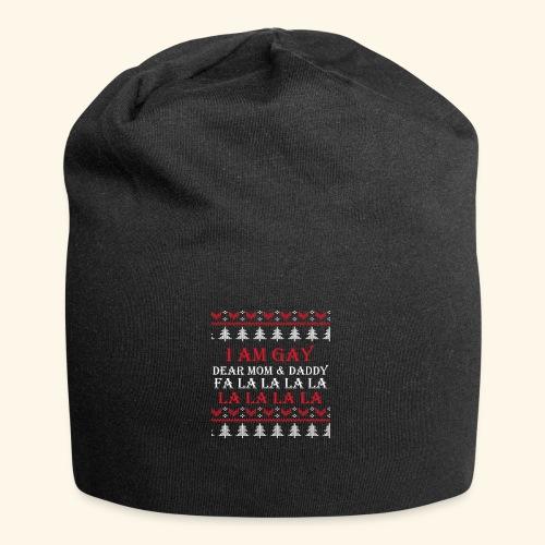 Gay Christmas sweater - Czapka krasnal z dżerseju
