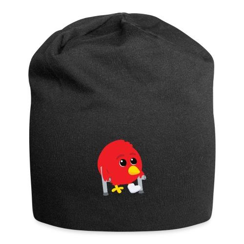 Oiseau rouge blessé - Bonnet en jersey