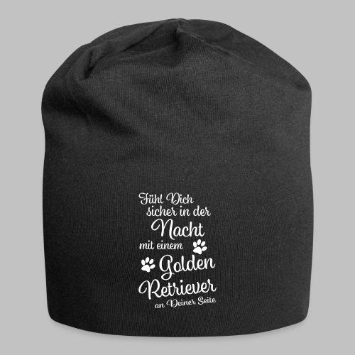 Fühl Dich sicher in der Nacht - Golden Retriever - Jersey-Beanie