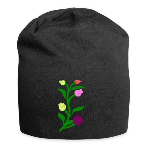 fleurs - Bonnet en jersey