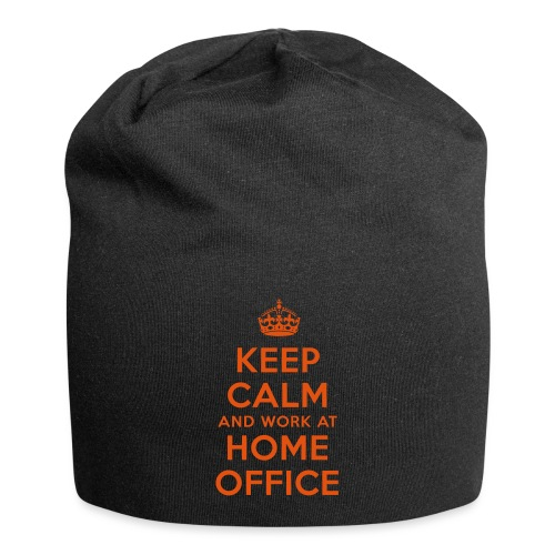 KEEP CALM and work at HOME OFFICE - Jersey-Beanie