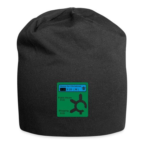 HOME_FOR_CHRISTMAS_SIGN - Jersey Beanie