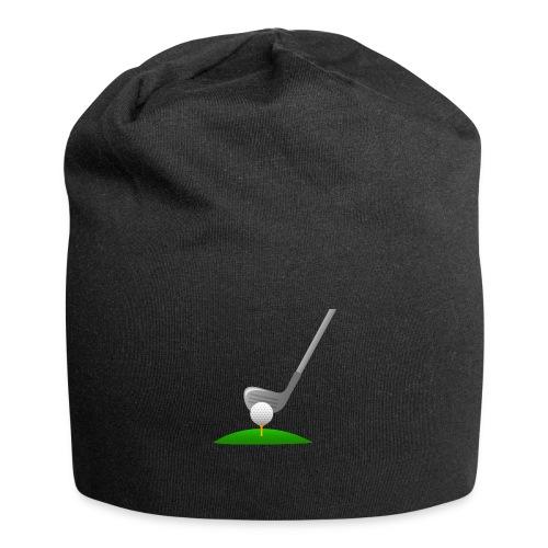 Golf Ball PNG - Gorro holgado de tela de jersey