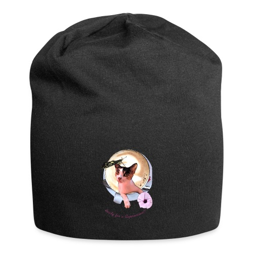 Ready for a cappuchino? - Jersey Beanie
