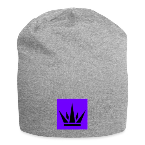 Reign Purple Box Hat - Jersey Beanie